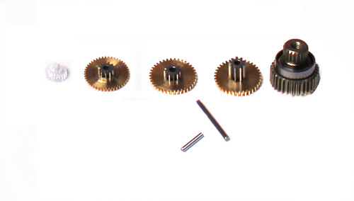 Savox SGSH0261MG SERVO GEAR SET WITH BEARINGS