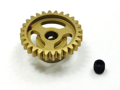 Trinity TEP4028 Ultra Lightweight Aluminum Pinion Gear, Thin, 48 Pitch,