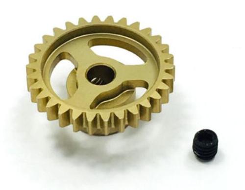 Trinity TEP4030 Ultra Lightweight Aluminum Pinion Gear, Thin, 48 Pitch,