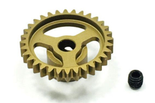 Trinity TEP4032 Ultra Lightweight Aluminum Pinion Gear, Thin, 48 Pitch,