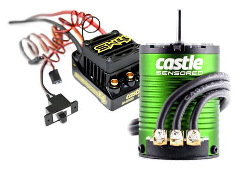 Castle Creations 010-0164-06 Sidewinder 4 Waterproof Sensor