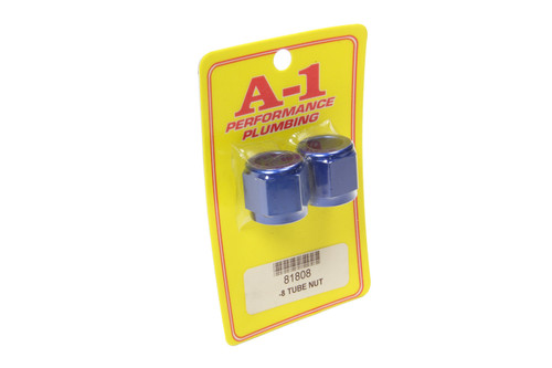 A-1 Products 81808 #8 AN Aluminum Tube Nut 2pk