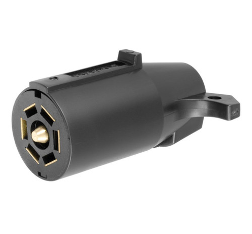Curt Manufacturing 58141 7 Pole Connector Trailer Side