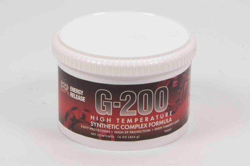 Energy Release P006T G-200 Grease Hi-Temp 16oz Tub Synthetic