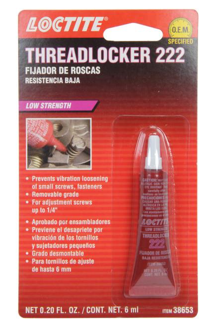 Loctite 555339 Threadlocker 222 Low Str ength Purple 6ml
