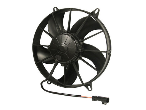 Spal Advanced Technologies 30102800 11in Puller Fan Curved Blade 1604 CFM