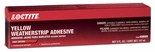 Loctite 782111 Yellow Weatherstrip Adhesive 5oz