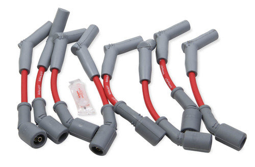 Holley 561-102 LS 6.2L Spark Plug Wire Set 45-Deg Red