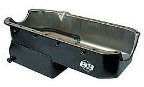 B And B Performance Products 91078 SBC D/R Oil Pan - 80-85 RH Dipstick