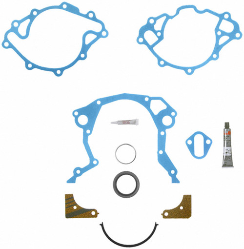 Fel-Pro TCS45168 Timing Cover Gasket Set w/Sleeve SBF 221-351W