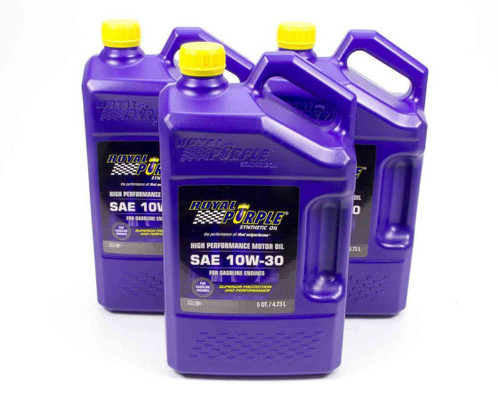 Royal Purple 53130 10w30 Multi-Grade SAE Oil 3x5qt Bottles