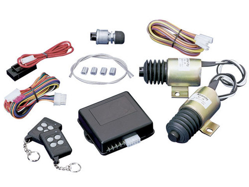 Spal Advanced Technologies SHAVED-40 Shaved Door Handle Kit w/7 Channel Remote