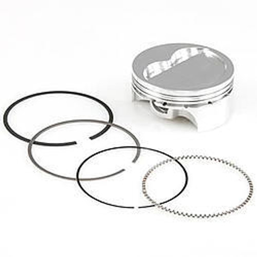 Sportsman Racing Products 271069 SBC Dished Pro-Series Piston & Ring Set 4.155