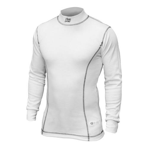 K1 Racegear 26-PUS-W-XS Undershirt Premier White X-Small