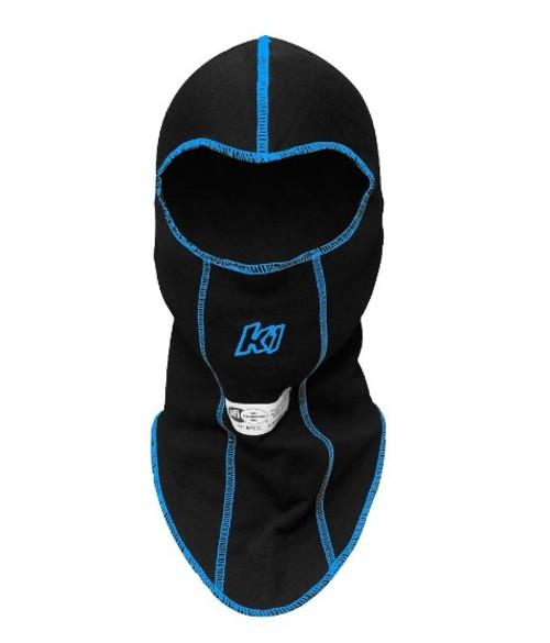 K1 Racegear 26-SLH-N Balaclava Head Sock Black Single Layer