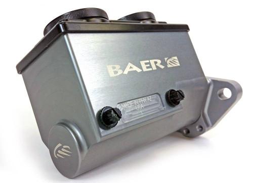 Baer Brakes 6801238LP ReMaster Master Cylinder 1in Bore Left Port Gray