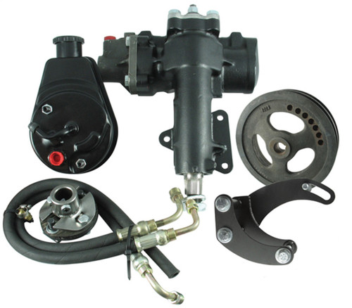 Borgeson 999016 Power Steering Conversn Kit 63-66 Corvette SBC