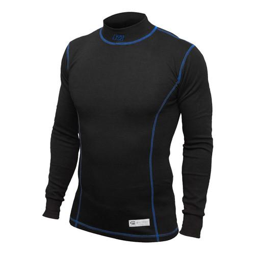 K1 Racegear 26-XUS-N-L Undershirt SafetyX Black Large