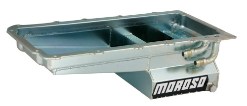 Moroso 20141 GM LS1/LS6 Steel Oil Pan - 7qt.