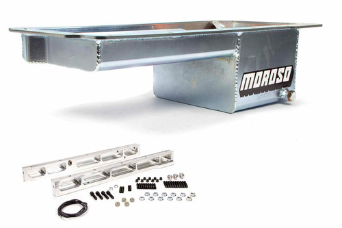 Moroso 20144 GM LS 7qt Oil Pan - Fits Dart LS Next Block