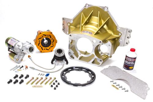 Quarter Master LGC350375091 Bellhousing Kit SBF LGC 5.5in Optimum V