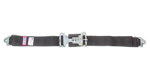 Rjs Safety 15002001 3in Lap Belts W/Snap End Black