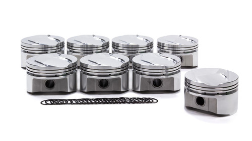 Sportsman Racing Products 289555 SBF Boss 302 Piston Set Domed 4.030 Bore +3.5cc