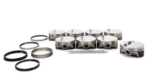 Sportsman Racing Products 295445 SBC F/T Pro-Series Piston & Ring Set 4.125