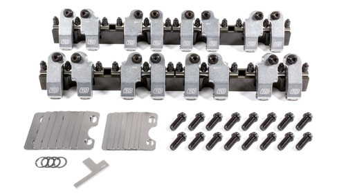 T And D Machine 2251-165/155 SBC Shaft Rocker Arm Kit - 1.65/1.55 Ratio