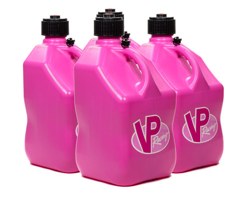 Vp Fuel Containers 3814 Utility Jug 5 Gal Pink Square (Case 4)