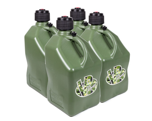Vp Fuel Containers 3844 Utility Jug 5 Gal Camo Square (Case 4)