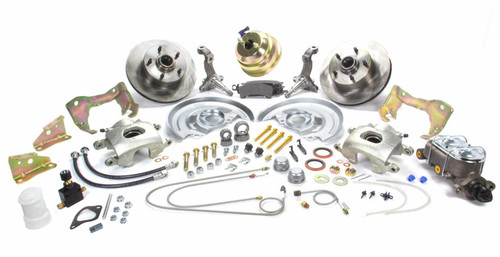Stainless Steel Brakes A123-1 GM Muscle Car Front Brake Kit