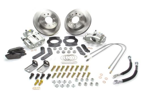 Stainless Steel Brakes A125-1 Rear Disc Brake Conv Kit 62-67 Nova/67 Camaro