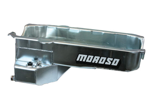 Moroso 20179 5.5qt Oil Pan - SBC RR w/2-Piece Rear Main