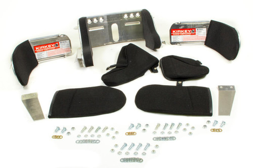 Kirkey 98711S Deluxe Head Restraint Kit Black