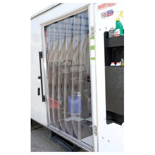 Clear One TC158 Vinyl Door Strips 4x6