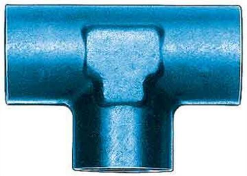 Aeroquip FCM2150 Alum Female Pipe Tee 1/8