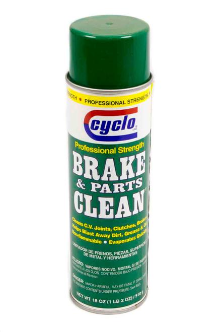 Cyclo C32 18 Oz. Brake Cleaner Green