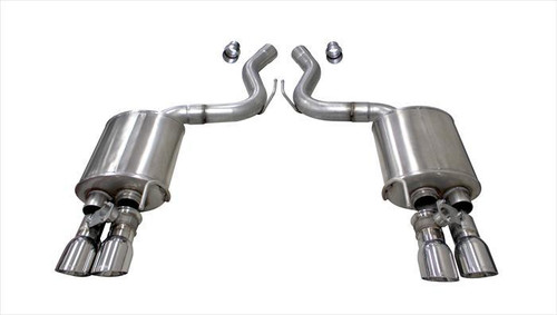 Corsa Performance 21002 18-   Mustang 5.0L Axle Back Exhaust