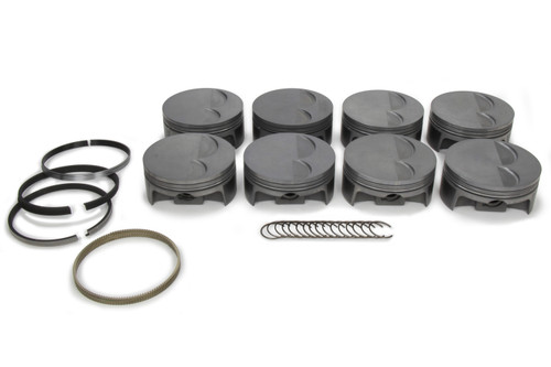 Mahle Pistons 930221625 LS7 PowerPak F/T Piston Set 4.125 Bore