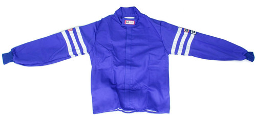 Rjs Safety 200010306 Jacket Proban S/L XL Blue SFI-1