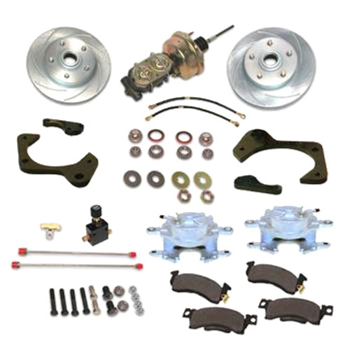 Stainless Steel Brakes A129-2 59-64 GM Full Size Front Brake Kit