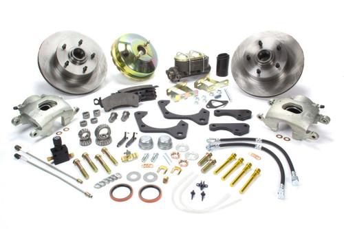 Stainless Steel Brakes A129-4 65-68 GM Full Size Front Brake Kit
