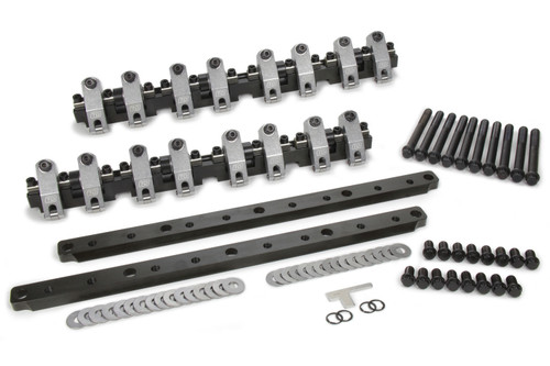 T And D Machine 7030-175/175 BBF Shaft Rocker Arm Kit w/Edelbrock FE 427 Heads