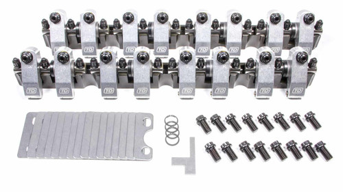 T And D Machine 7341-165/165 SBF Shaft Rocker Arm Kit - 1.65/1.65 Ratio