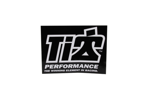 Ti22 Performance 0051 Ti22 Decal 6x8 Black