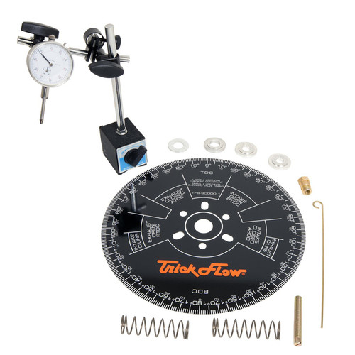 Trick Flow TFS-90000-16 Camshaft Degree Kit w/11in Dia. Wheel