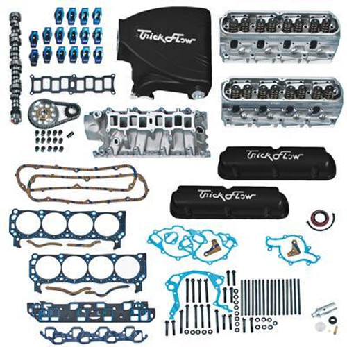 Trick Flow TFS-K514-360350B Top End Engine Kit Twist ed Wedge 360HP SBF 5.0L