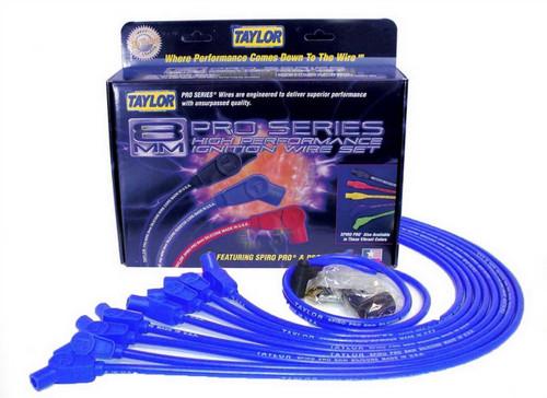 Taylor/Vertex 76632 BBC 8MM Pro Race Wires- Blue