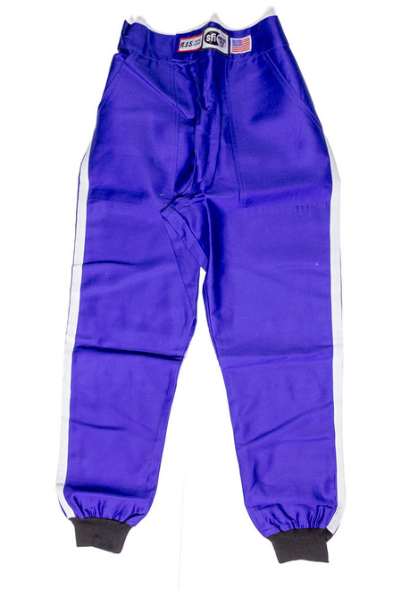Rjs Safety 200020306 Pants Proban S/L XL Blue SFI-1